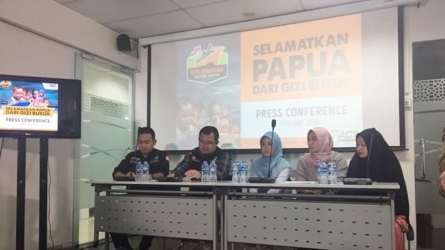 Press Conference ACT Kapal Kemanusiaan Papua