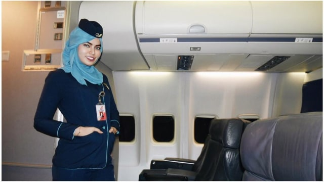 6 Maskapai Penerbangan yang Mengizinkan Awak Kabinnya Berhijab (401972)
