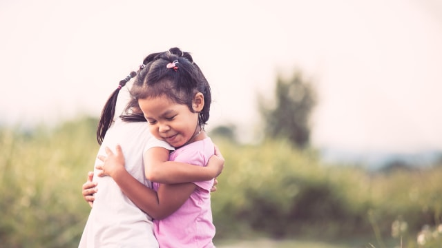 Ilustrasi anak bersahabat