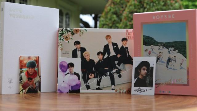Album dan Photocard K Pop