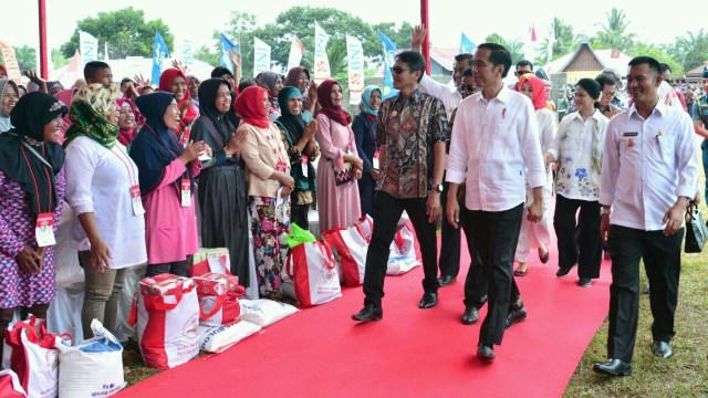 Soal Sembako, PDIP Sebut Jokowi Serupa Umar bin Khattab Panggul Gandum (147516)