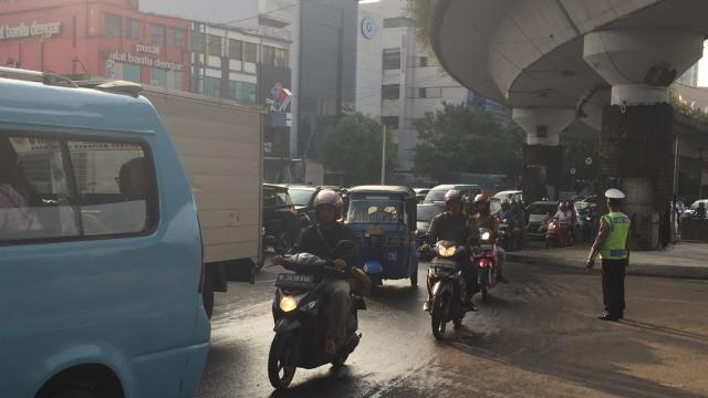Polisi Usut Kasus Pengendara Tanduk Polisi di Matraman (36189)