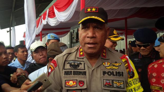 Kapolda Sumatera Utara Irjen Pol Paulus Waterpauw