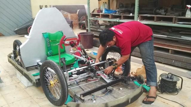 Malem Diwa mobil listrik karya mahasiswa Aceh