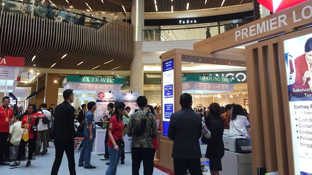 Cathay Pacific Travel Fair di Mal kota Kasablanka