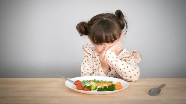 Anak tidak mau makan sayur