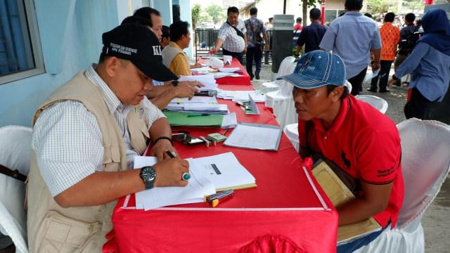 Pendataan nelayan pengguna alat tangkap cantrang