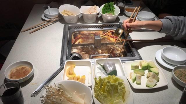 Makanan musim dingin di China