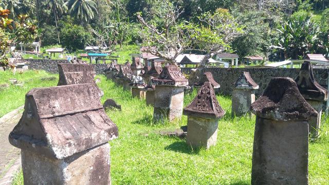 Waruga Sawangan di Sulawesi Utara