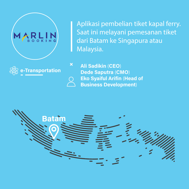 Startup Marlin Booking