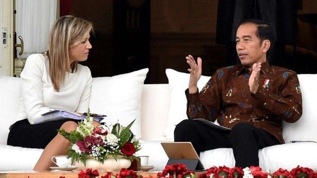 Jokowi Bertemu Ratu Maxima