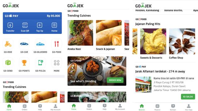 Pengguna Go-Jek Bisa Pilih Layanan Favorit di Tampilan Baru Aplikasi (60386)
