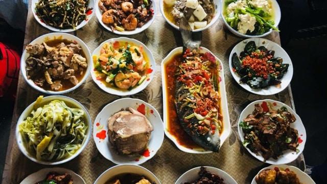 Menu makanan khas Imlek di China