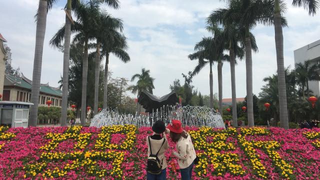 Tempat wisata di China dipercantikan khusus Imlek