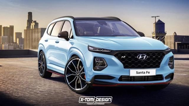 Santa Fe Suv >> Menerka Tampang Suv Performa Hyundai Santa Fe N Model 2019