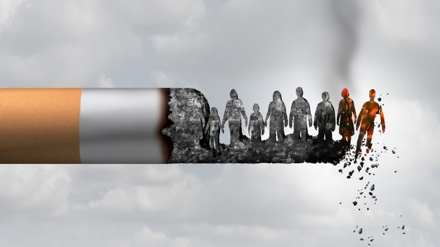 Merokok Dapat Tingkatkan Risiko Gangguan Pendengaran (12822)