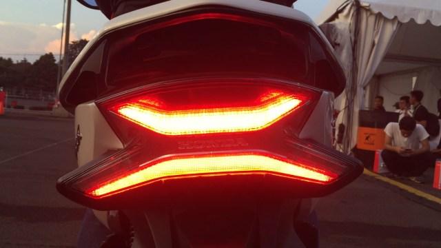 Lampu belakang all new Honda PCX
