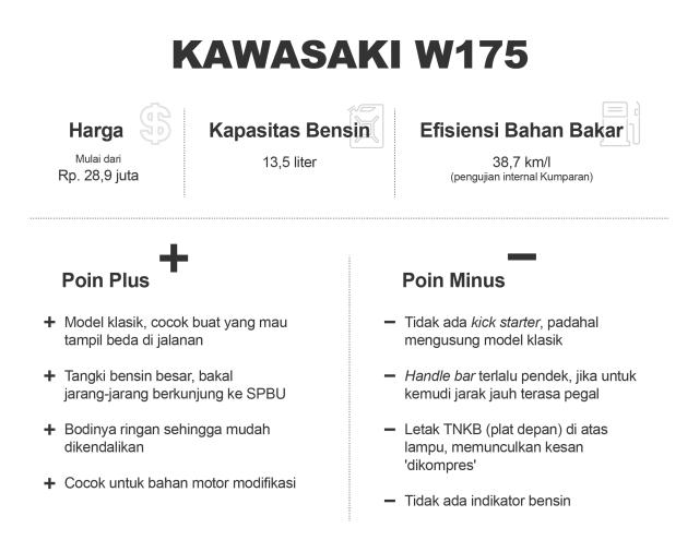 Plus-Minus Kawasaki W175 (12814)