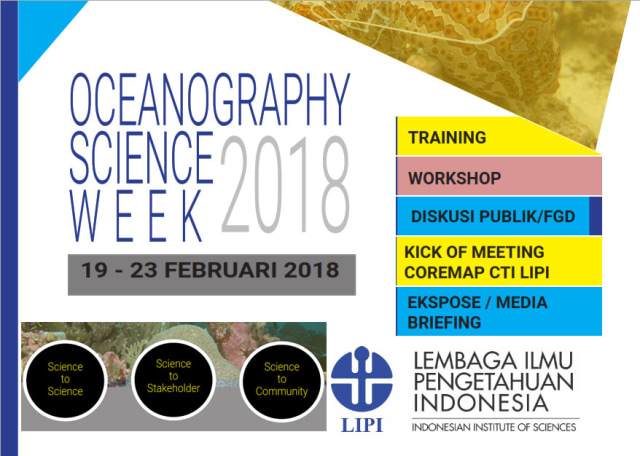 Oceanography Science Week (OSW) 2018.