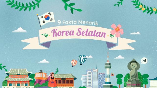 Infografik: 9 Fakta Menarik Korea Selatan (494048)