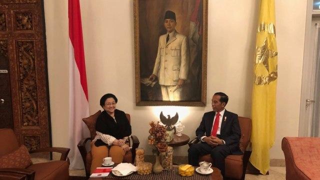 Pertemuan Jokowi dan Megawati
