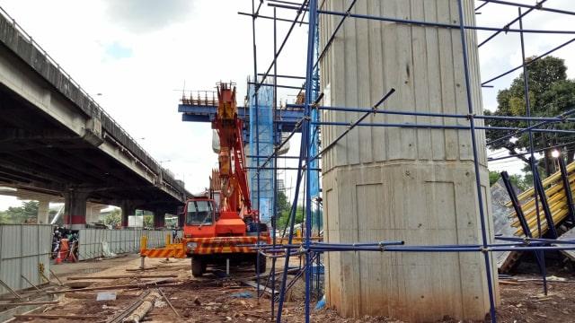 Pengerjaan infrastruktur elevated dimoratorium