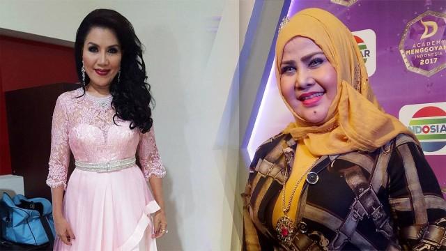 Elvy Sukaesih vs Rita Sugiarto, Siapa Pedangdut Favoritmu