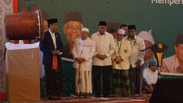 7 Momen Kedekatan Jokowi dan Ma'ruf Amin (390269)