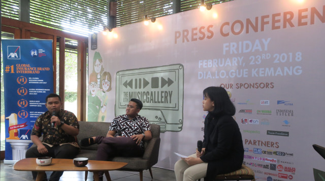 Konferensi Pers The 8th Music Gallery