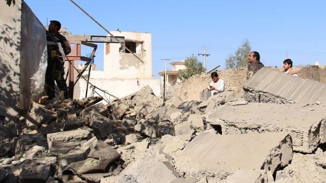 Serangan di Afghanistan.