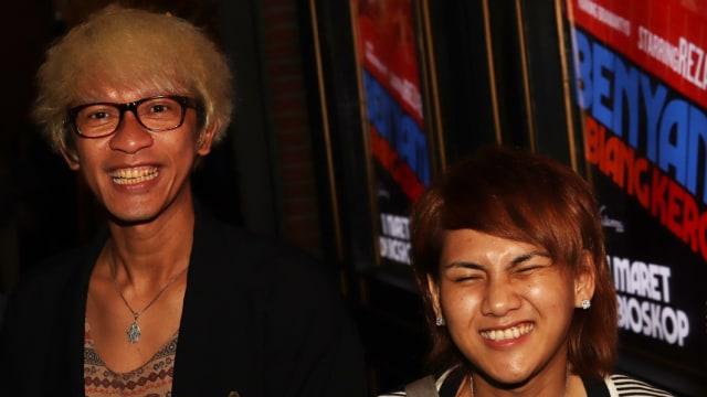 Terciduk Hadiri Gala Premiere Bersama, Aming dan Evelyn Tersipu Malu (129215)