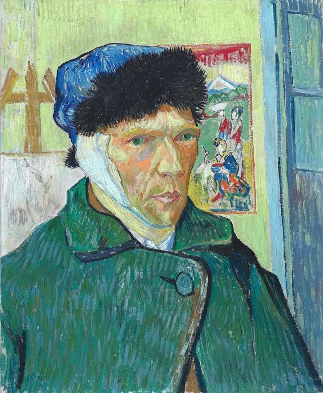 Van Gogh: Self Portrait with Bandaged Ear