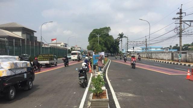 Jalan Layang Cipinang Lontar ke arah Jatinegara