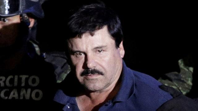 Bos Kartel Narkotika Meksiko El Chapo