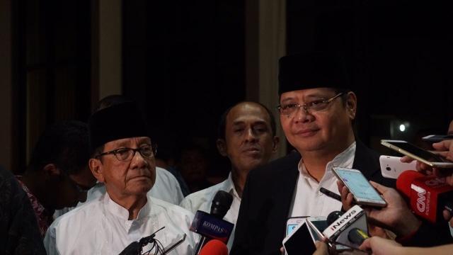 Luhut, Ical, Akbar Pro Airlangga, MS Hidayat, Yorrys Dukung Bamsoet (248363)