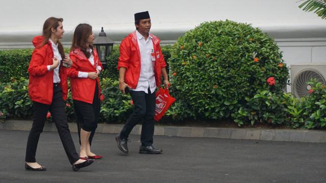 Jokowi Beri Tips Grace Natalie dan Tsamara Amany Menangkan Pemilu 2019 (63899)