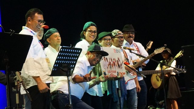 Elek Yo Band di BNI JJF 2018