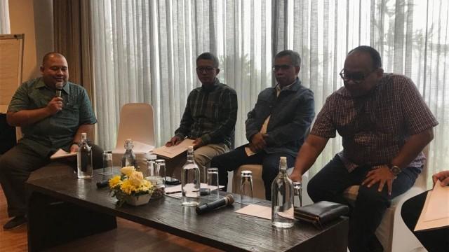 Diskusi Keuangan Bersama Ketua OJK Wimboh Santoso