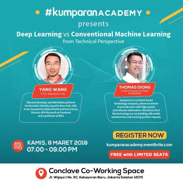 kumparan Academy, Deep dan Machine Learning