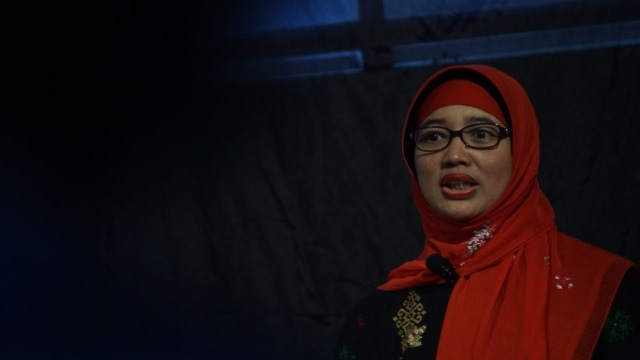 Retno Listyarti di Women Talk LBH Jakarta