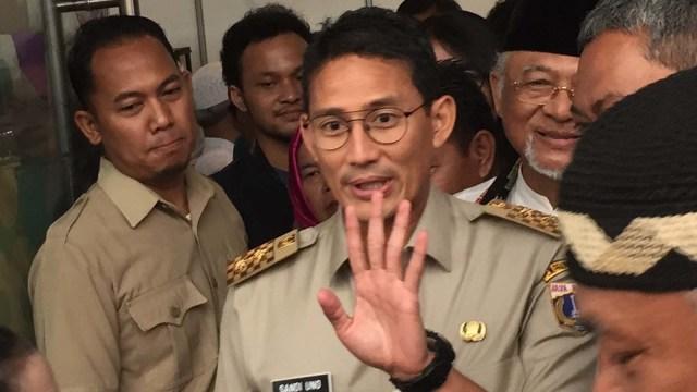 Wakil Gubernur DKI Jakarta, Sandiaga Uno