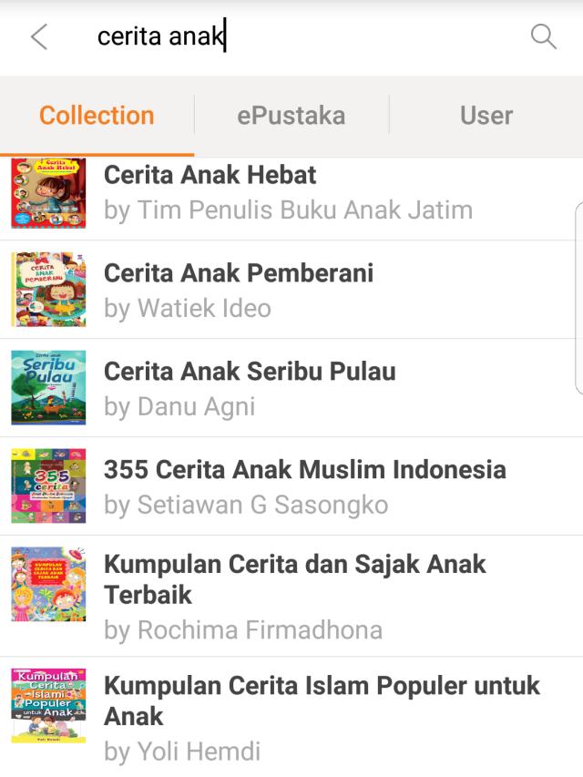 iJakarta, Kini Punya Banyak Koleksi Buku Cerita Anak dan Keluarga (270612)