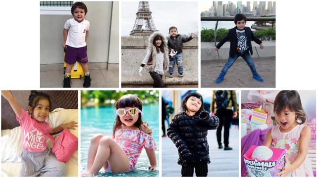 7 Gaya Anak Seleb Paling Stylish, Siapa Favorit Anda? (1142697)