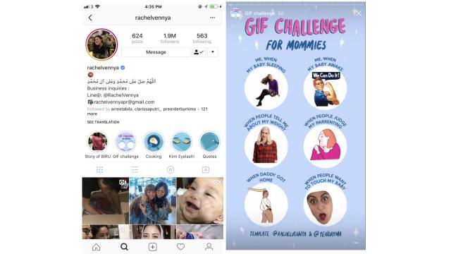 Berkenalan dengan GIF Challenge di Instagram Story - kumparan com