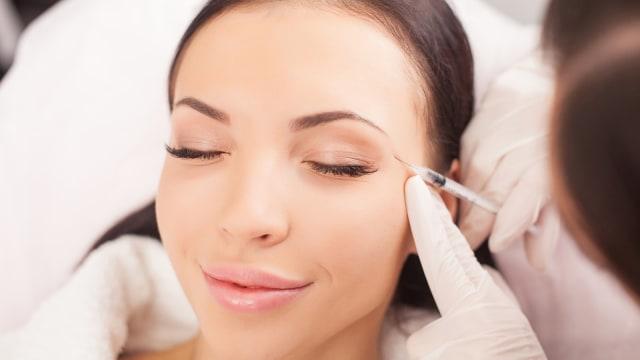Ilustrasi Botox.