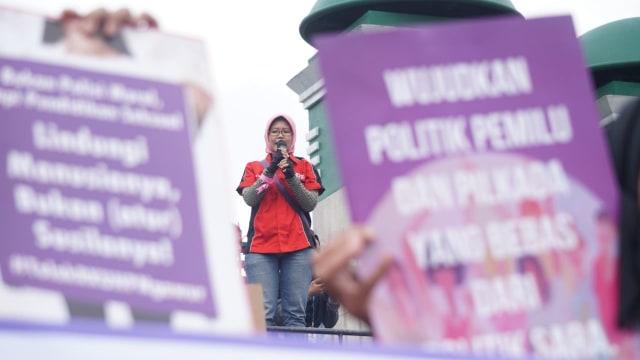 Parade juang perempuan Indonesia