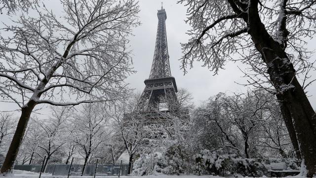 Rekam Jejak Kedatangan Turis ke Paris pada 2017