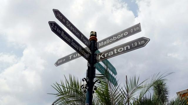 Pedestarian di Malioboro Yogyakarta