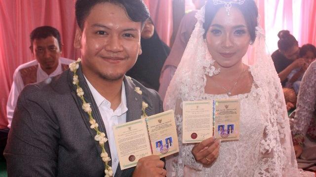 Ilham 'Smash' menikah