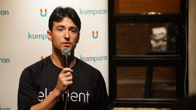 Adam Perold, CEO Element, Inc. di kumparan Academy